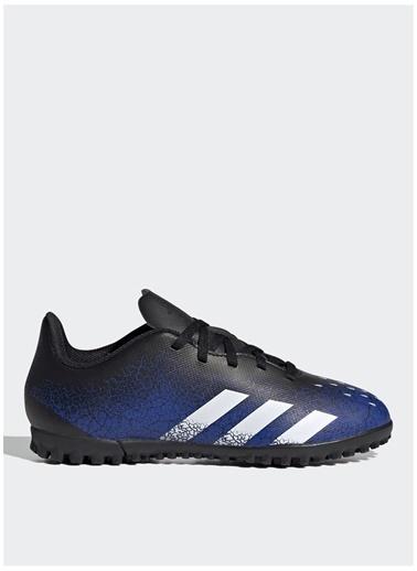 adidas Adidas Erkek Çocuk Mavi-Beyaz-Siyah Halı Saha Ayakkabısı Mavi